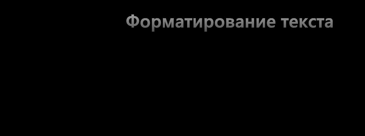 Картинка Форматирование текста в Discord